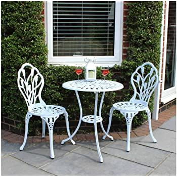 Bentley Outdoor Lot de 2 chaises 1 Table Motif Tulipes - Salon de ...