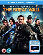The Great Wall (Blu-ray + Digital Download) (Slipcase Packaging + Region Free) (Fully Packaged Import)