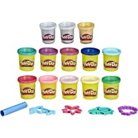 Play-Doh - 13 Pots de Pate à Modeler et 5 Accessoires - Sirènes