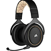 Corsair HS70 PRO Wireless Cuffie Gaming con Microfono, Audio 7.1 Surround, Wireless 2,4GHz a Bassa Latenza, 12 metri di…