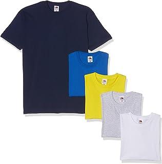 Collo a U Fruit of the Loom ragazzo T-shirt