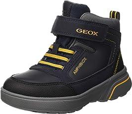 Geox Jungen J Sveggen Boy B ABX B Klassische Stiefel,