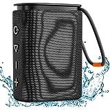 Altoparlante Bluetooth Impermeabile IPX7, Hadisala H2 Cassa Senza Fili Portatili Bluetooth 5.0 con Bassi Ricchi Suono Stereo