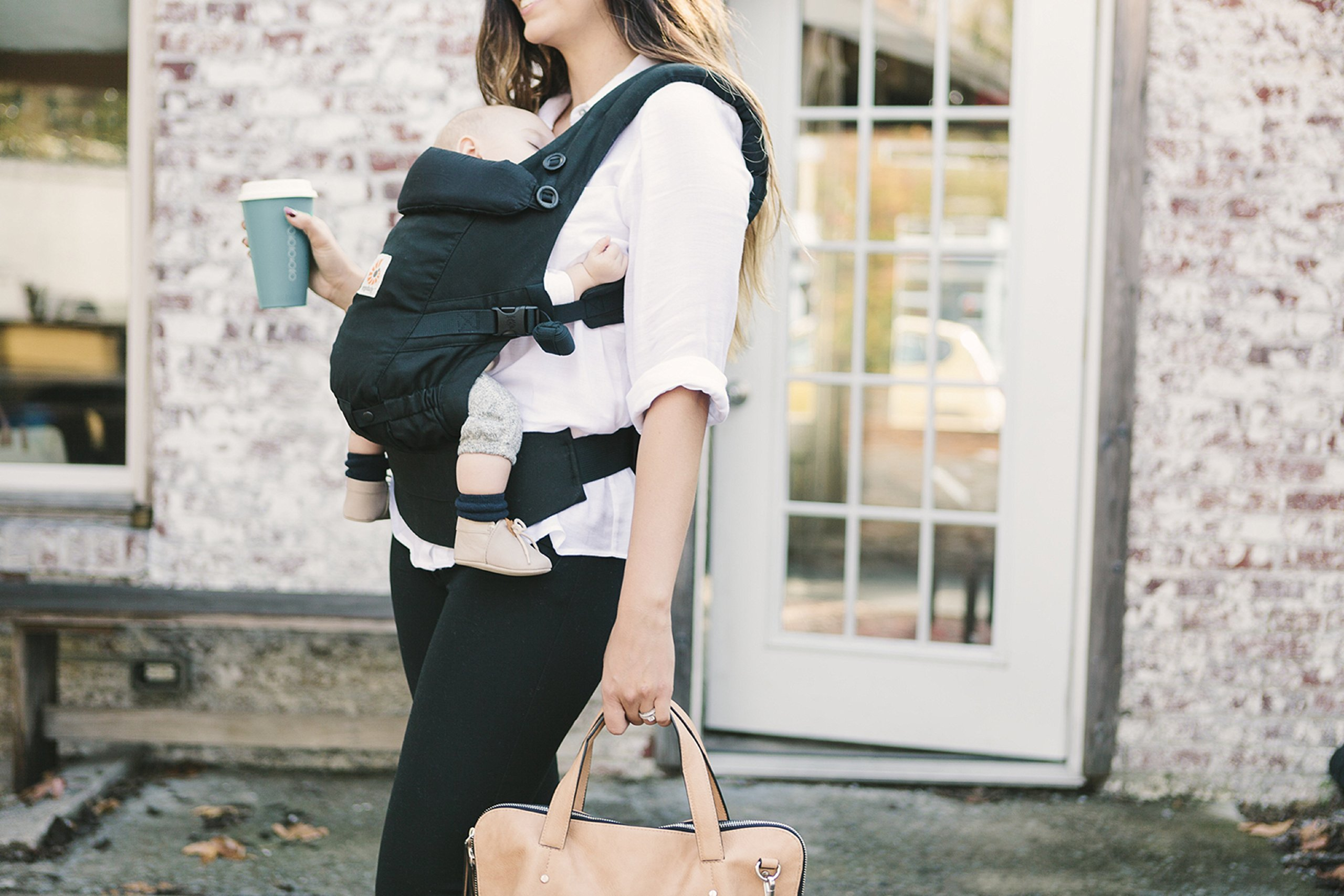 ErgoBaby Adapt Baby Carrier Black Ergobaby Adapt to Every Baby Easy. Adjustable. Newborn to toddler. 6