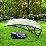 YJIIJY Carport para Robot cortacésped | Cubierta de Garaje para Robot| - para Cortacéspedes Maquinaria Jardín 100 * 78 * 50cm