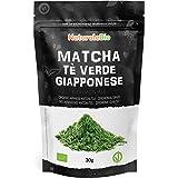 Thé Matcha Bio Japonais (Recharge de 30g). Cérémonie Thé Vert Matcha en Poudre. Matcha Green Tea Produit au Japon Uji, Kyoto.