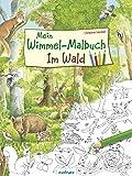 Mein Wimmel-Malbuch – Im Wald