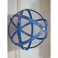Genesa Crystal, Purificatore energia, Dispositivo orgonico 32 cm di diametro Azzurro