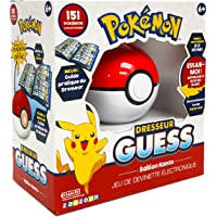 Bandai - Pokémon - Dresseur Guess Kanto - Jeu électronique en forme de Poké Ball - Jeu intéractif, sans écran, à…
