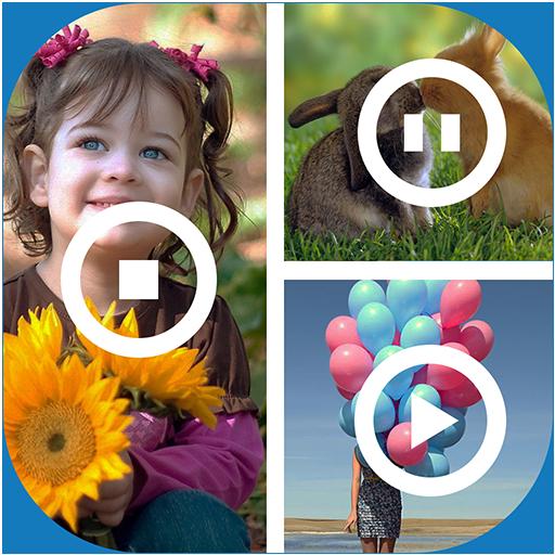 Video Collage (Machen Farbe Mischen Karte)