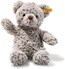 Steiff Soft Cuddly Friends Honey Teddybär Kuscheltier, hellgrau