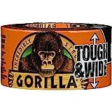 Gorilla Standard Duct Tape [Zwart/Zilver/Wit]: 2.88 in. x 75 ft. (Zwart)