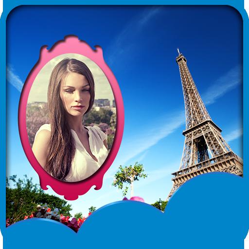 Reise-Paris-Fotorahmen
