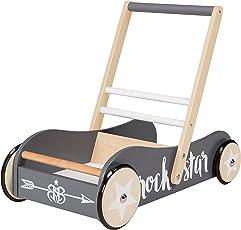 roba Lauflernwagen, Spiel-und Lauflernhilfe aus Holz mit Bremse, in verschiedenen Varianten erhältlich