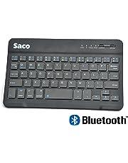 Saco Slim Wireless Bluetooth Keyboard for Apple 64GB iPad Mini