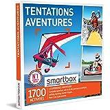 SMARTBOX - coffret cadeau couple - Fête des Pères - Tentations aventure - idée cadeau originale - 1 aventure à vivre pour 1 o