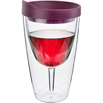 Southern Homewares 10 Oz Wine 2go Wine Tumbler Insulated Vino