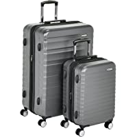 Amazon Basics Valise rigide à roulettes pivotantes de qualité supérieure avec serrure TSA intégrée - Lot de 2 pièces (55…