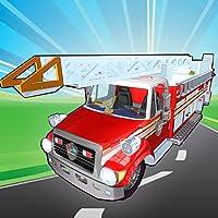 Fix My Truck: Red Fire Engine - Firefighter Mechanic Simulator - Kids Games Friendly