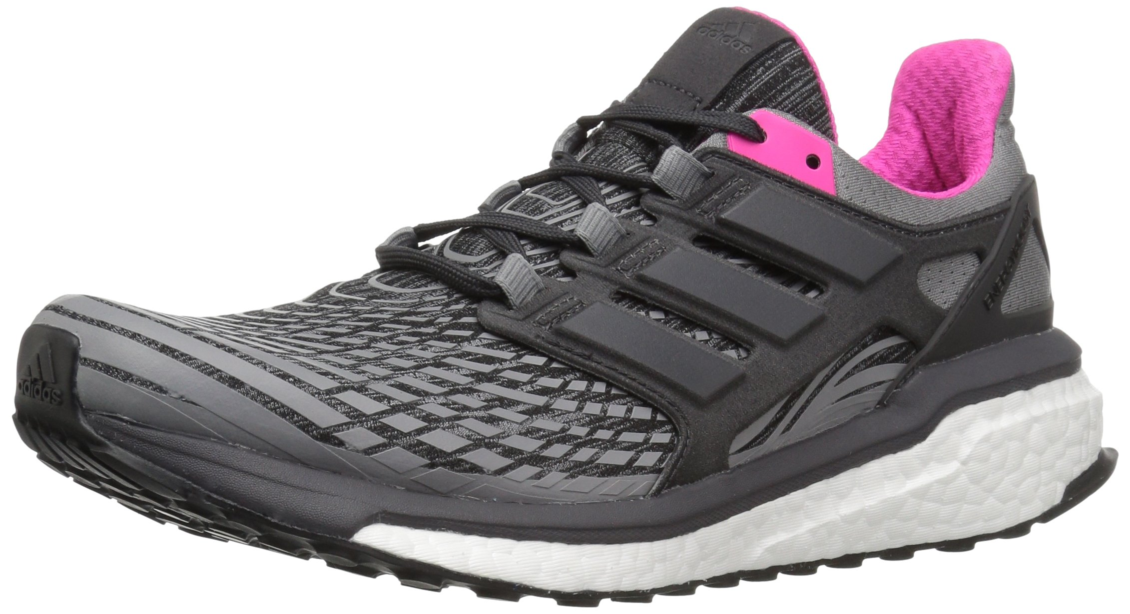 81d9VQSHWDL - adidas Womens Energy Boost Fabric Low Top Lace Up Running Sneaker