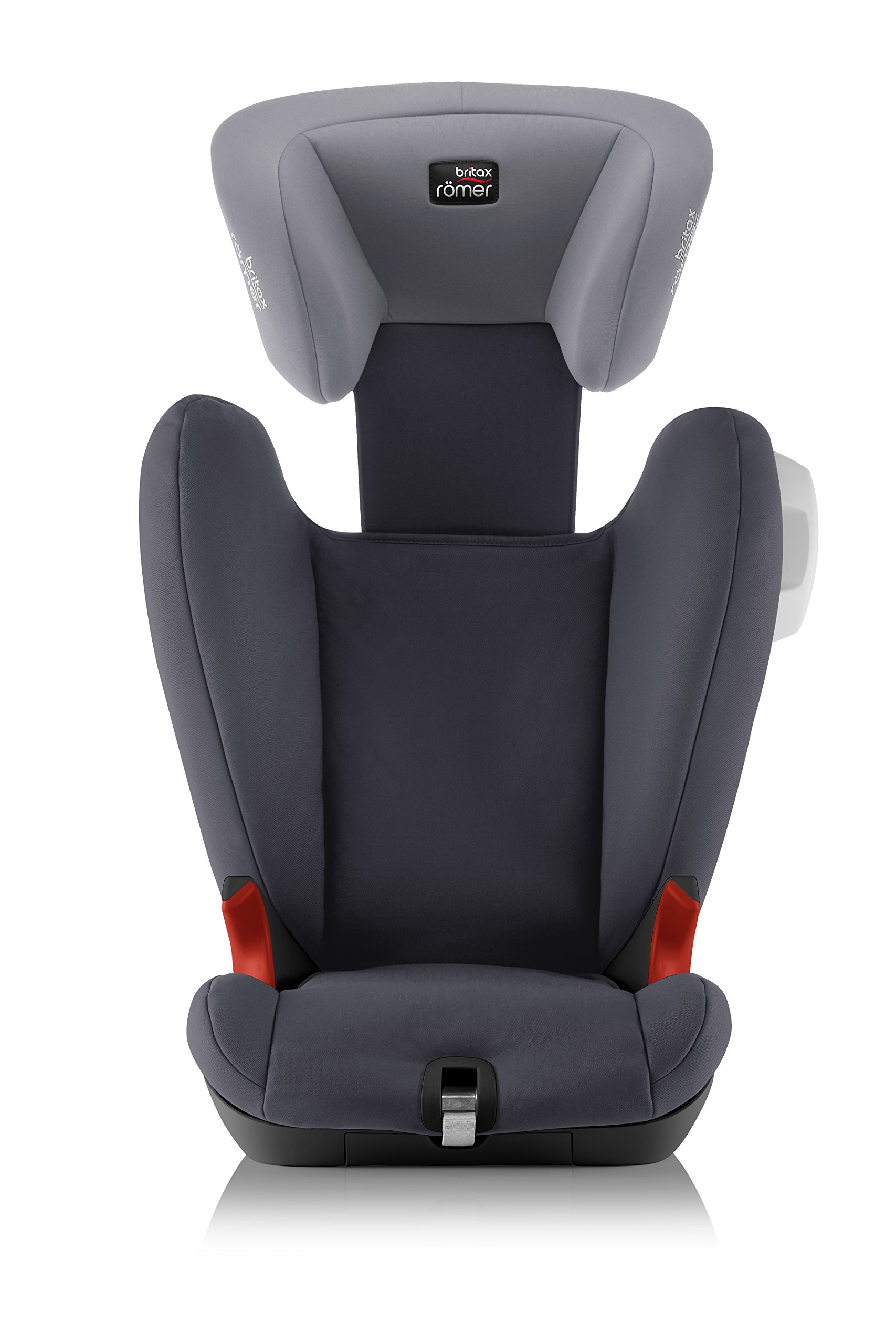 Britax Römer KIDFIX SL SICT BLACK SERIES Group 2-3 (15-36kg) Car Seat - Storm Grey Britax Römer Side impact protection - deep, softly padded side wings and sict technology, removable to use only on the side closest to the door Simple installation - soft-latch isofit system Misuse limiting design - intuitively positioned seat belt guides 6