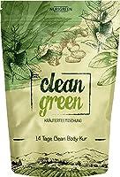 Clean Green Detox Tee ● schnell und wirksam ● 14 Tage Body Detox Tee Kur ● 100% natürliche Kräuterteemischung Hergestellt in Deutschland ● für Frauen und Männer ● auch ohne Sport ● Nurigreen
