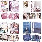 4 Boîtes/ 220 Pièces Set de Autocollants Washi Journalisation Étiquette Autocollant Décoratif Autocollants de Scrapbooking Br