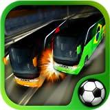 Bus de foot battle Brésil 2014