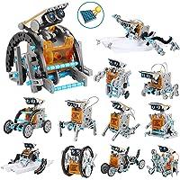OFUN Robot Jouet 12 en 1 Construire Jouets éducatifs, STEM Robot Jouets Solaires pour Les Enfants de 8 Ans et Plus (190…