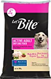 Let's Bite Active Organic Adult Dog Food 10kg (2kg Extra Free Inside)