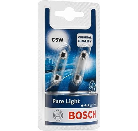Akhan 58111 Halogenlampe Soffitte C5W 12V 10W SV85 11x38mm
