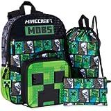 Minecraft MOBS 5 Piece Backpack