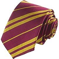 Party-Poter Harry Tie Wizard School Tie Soft Gryffindor Tie Party Costume Necktie for Halloween Cosplay Costume Boy Tie…