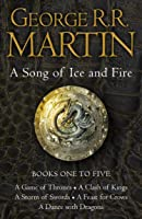 A Game of Thrones: The Story Continues Books 1-5: A Game of Thrones, A Clash of Kings, A Storm of Swords, A Feast for...