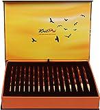 KnitPro Set The GOLDEN Light Box austauschbare Rundstricknadeln, Holz, Symphonie 27 x 18 x 5 cm