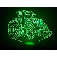 FE-DT, Lampada illusione 3D con LED - 7 colori.