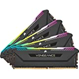 CORSAIR Vengeance RGB Pro SL 128GB (4x32GB) DDR4 3200 (PC4-25600) C16 1.35V Módulos de Memoria de Alto Rendimiento - Negro