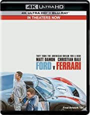Ford V Ferrari (4K UHD & HD) (2-Disc)