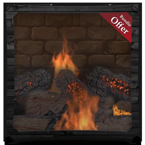 Bonfire Fireplace Pack