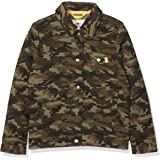 Kids' camo jacket from Ben & Lea; stylish boys' jacket with camouflage print, button fastening and side pockets