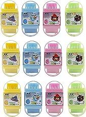 Grab Offers New Latest Design Kids 3 in 1 Eraser, Sharpener and Brush for School Going Kids Or Birthday Return Gift (3 in 1 Eraser Shrapener- 6 Pcs)