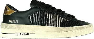 Golden Goose Sneakers Uomo Vintage stardan G35MS959.C2 Nero Oro