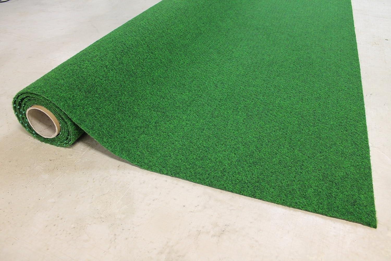 Innovativ Kunstrasen Moos grün 2 m breit Rasenteppich Größe 100 x 200 cm  DH33
