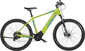 FISCHER E-Mountainbike MONTIS 6.0i, E-Bike MTB, grün matt, 27,5 oder 29 Zoll, RH 48 oder 51 cm, Brose Mittelmotor 90 Nm, 36 V/504 Wh Akku im Rahmen