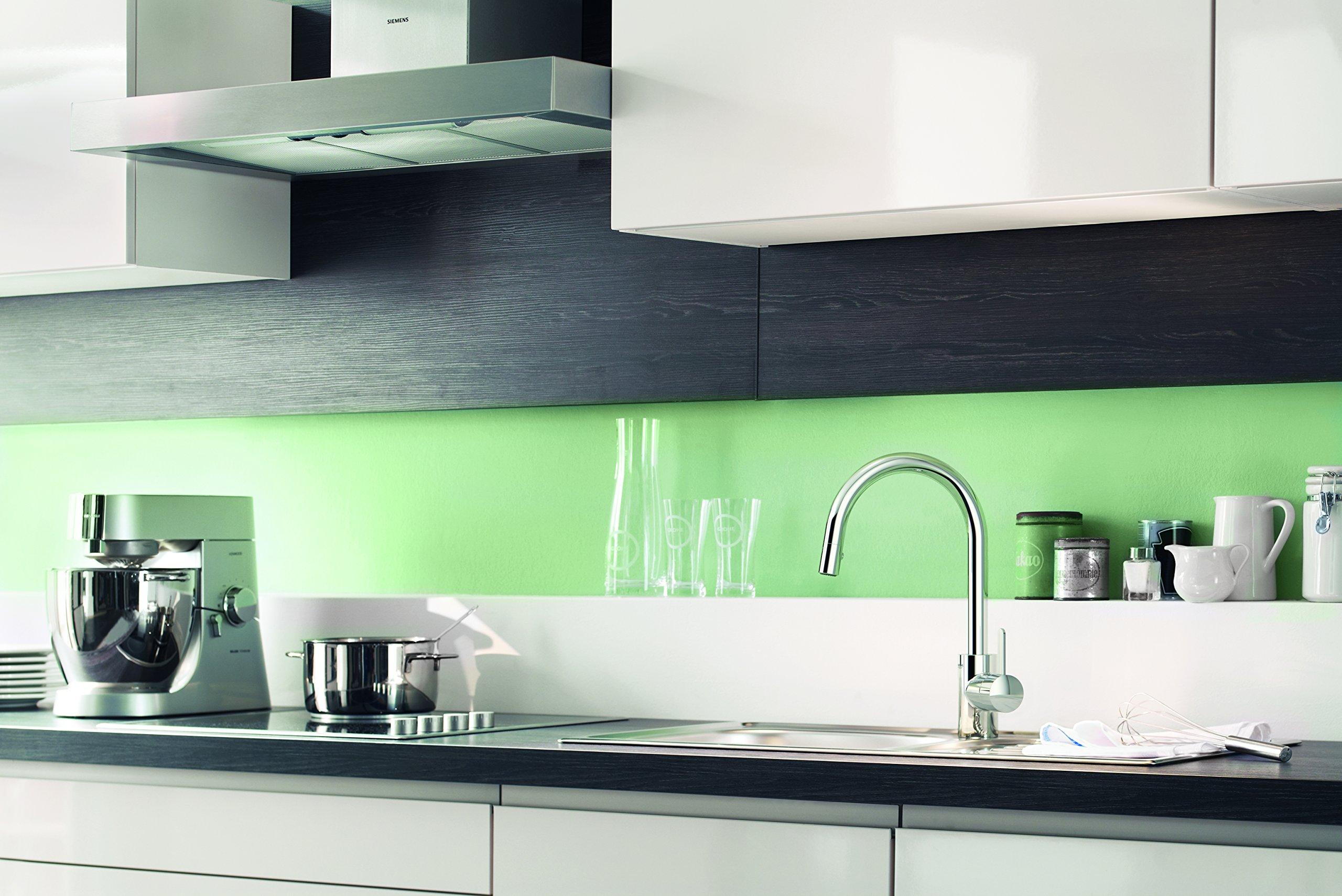 Grohe Eurosmart Cosmopolitan –  Grifo de cocina 1/2″, color cromo (Ref.31481000)