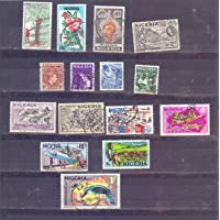 Nigeria - 15 Used Stamps as Shown - A 211