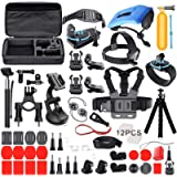 Deyard Accessories Kit Set Compatible with GoPro Hero 9 Hero 8 Hero 7 Hero 6 Hero 5 Hero 4 Hero HD(2018) Hero Fusion Max…