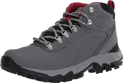 Columbia Newton Ridge Plus II Waterproof Leather & Suede Hiking Boot, Stivali da Escursionismo Uomo