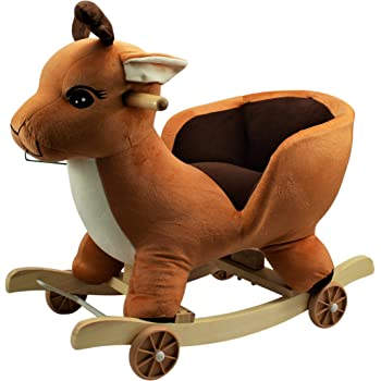 HOME HUT Kids Childrens Duck Animal Rocker Rocking Toddler Infant Baby Toy Gift