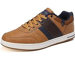 ARRIGO BELLOBaskets Hommes Chaussures Ville Sneakers de PU Cuir Athlétique Classique Basket Taille 41-46